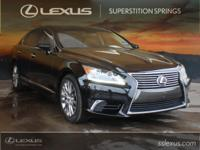 Clean CARFAX. CARFAX One-Owner. Leather.  2014 Lexus LS
