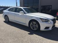LS 460, Lexus Certified, RWD, Starfire Pearl, Parchment