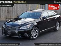 This 2014 Lexus LS 460 4dr 4dr Sedan RWD features a
