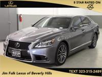 Options:  2014 Lexus Ls 460|Gray|F-Sport-Navigation-One
