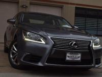Looking for a family vehicle? This Lexus LS 460 is