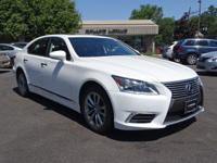 Options:  2014 Lexus Ls 460|Starfire Pearl/Black|V8 4.6