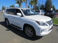 DRIVE FOREVER!! THIS LEXUS LX 570 COMES WITH A LIFETIME