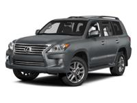 Options:  2014 Lexus Lx 570|/Parchment|V8 5.7 L