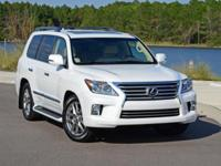 ***LEXUS CERITFIED*** and 2014 Lexus LX 570. Luxury