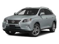 2014 Lexus RX 350 in White. Talk about MPG! Only 20k