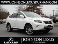 Lexus Certified and Parchment Cloth. The SUV you've