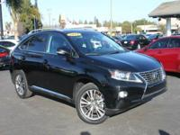Options:  2014 Lexus Rx 350 Base 4Dr Suv|Black|2014