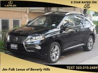 LOW MILES-NAVIGATION-ONE OWNER!!  The Jim Falk Lexus of