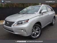 CARFAX 1-Owner. RX 350 trim. PRICE DROP FROM $27,400,