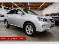 This 2014 Lexus RX 350 RX 350 features a 3.5L V6