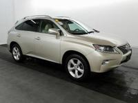 2014 Lexus RX 350. AWD and Parchment Leather.
