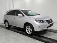 2014 Lexus RX 350. AWD and Black Leather. Perfect Color