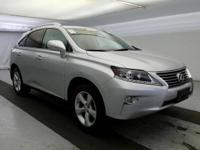 2014 Lexus RX 350. AWD and Black Leather. All the right