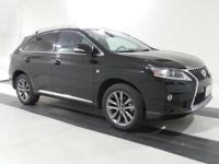 2014 Lexus RX 350 F Sport. AWD and F Sport Black