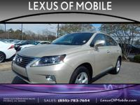 Youll love this SATIN CASHMERE 2014 L/Certified Lexus