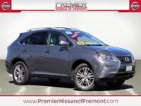 CARFAX One Owner. Clean CARFAX. Gray 2014 Lexus RX 350