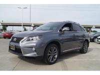 We are excited to offer this 2014 Lexus RX 350. This