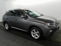 2014 Lexus RX 350. AWD and Black Leather. Nav! Come to