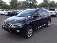 2014 Lexus RX 350. AWD and Black Leather. Easy rider.