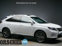 Certified F-Sport with NAV!!Ultra White 2014 Lexus RX