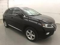 2014 Lexus RX 350. AWD and Black Leather. Hybrid-like