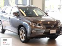 This 2014 Lexus RX 350 is equipped with: All Wheel