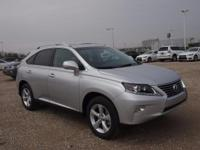 2014 Lexus RX 350. Lexus Certified, AWD, and Light Gray