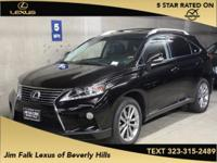 Options:  2014 Lexus Rx 450H|Black|Low