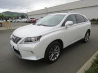 DRIVE FOREVER!! THIS LEXUS RX 450H COMES WITH A