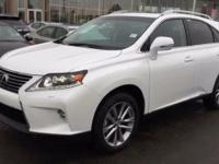 2014 Lexus RX 450h. 3.5L V6 DOHC VVT-i 24V, AWD, and