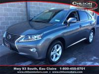 2014 Lexus RX 350 Nebula Gray Pearl All Wheel Drive,