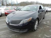 This 2014 LINCOLN MKS EcoBoost Elite is LINCOLN