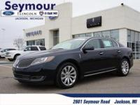 Lincoln Luxury and All Wheel Drive! What more can you