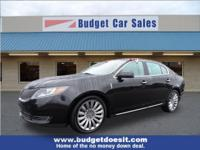 New Price! Black 2014 Lincoln MKS FWD 6-Speed Automatic