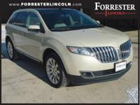 2014 Lincoln MKX, Platinum Dune, AWD / 4WD, 1-Owner,
