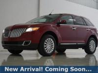 2014 Lincoln MKX 3.7L V6 in Ruby Red Metallic Tinted