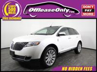 Look No Further!! One Owner. This 2014 Lincoln MKX