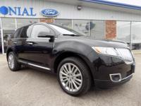 2014 Lincoln MKX All Wheel Drive With Navigation 3.7L