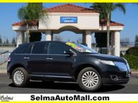 Clean CARFAX. Black 2014 Lincoln MKX FWD 6-Speed