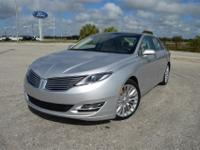 This sporty, low mileage Lincoln MKZ FWD Sedan is
