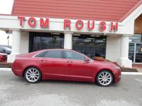 Ruby Red Metallic Tinted Clearcoat 2014 Lincoln MKZ FWD