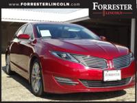 2014 Lincoln MKZ, Reserve, Ruby Red, AWD / 4WD,