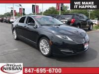 2014 Lincoln MKZ Base CARFAX One-Owner.33/22