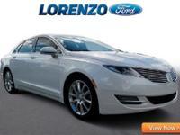 Options:  2014 Lincoln Mkz|White Platinum Metallic/|V4