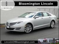 Recent Arrival! Certified. 2014 Lincoln MKZ AWD, 19