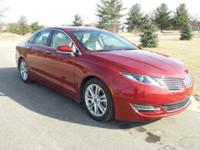 Options:  2014 Lincoln Mkz Base|Rear-View Camera! Push