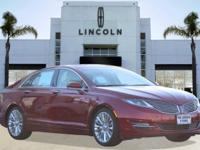 Options:  2014 Lincoln Mkz 4Dr Sdn Fwd|Red/|V6 3.7 L