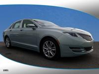 This 2014 Lincoln MKZ Hybrid in Ice Storm Metallic
