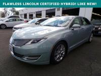 ***WOW! FLAWLESS AND PRISTINE LINCOLN CERTIFIED! 41+MPG